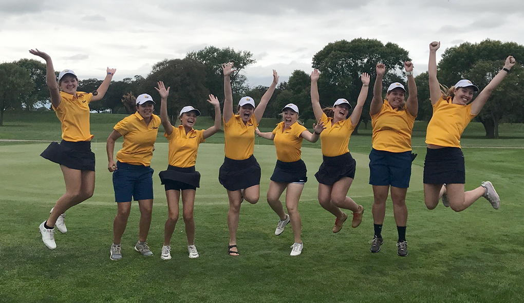 Photo for Golfers break CSM school record