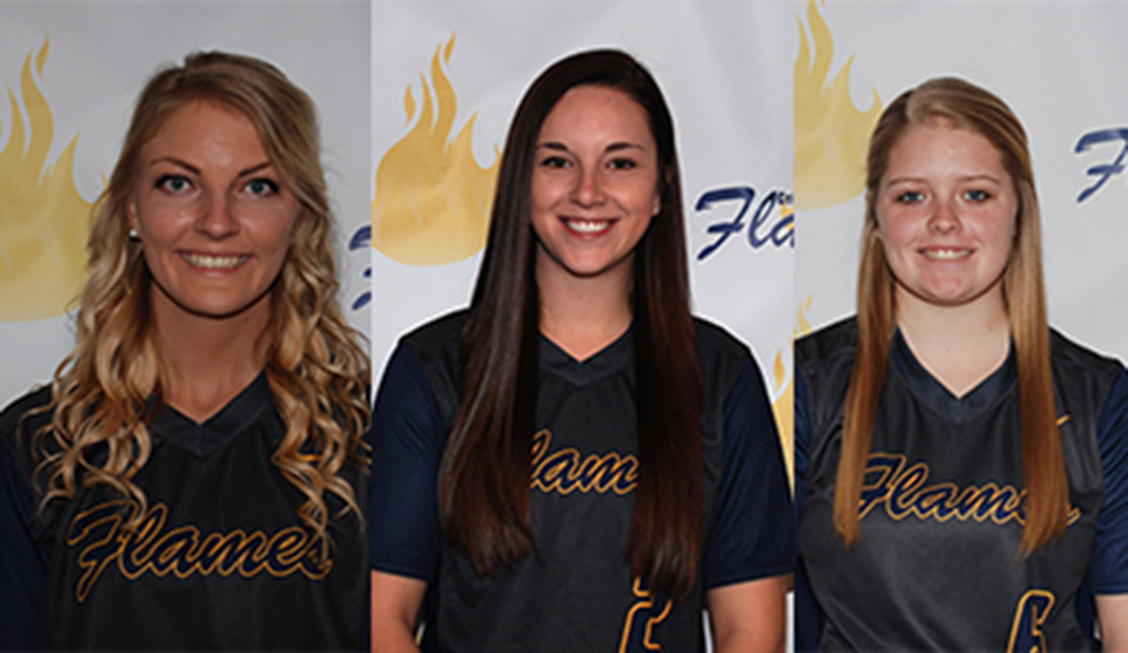 Photo for Three CSM softball players recognized by GPAC