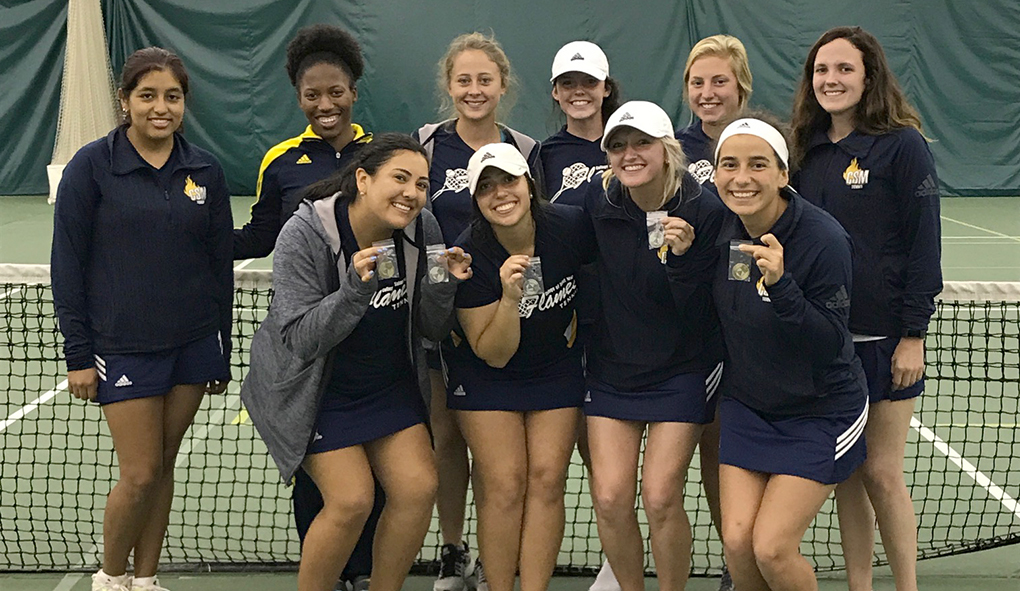 Photo for CSM tennis competes well in Doane Fall Invite