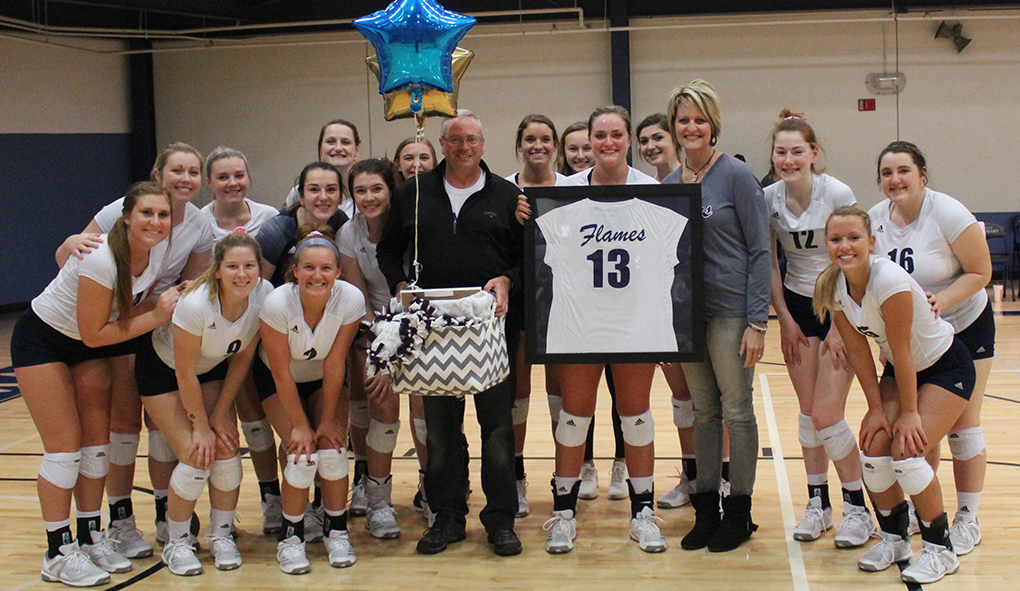 Photo for Flames honor Majerus, fall to Dordt