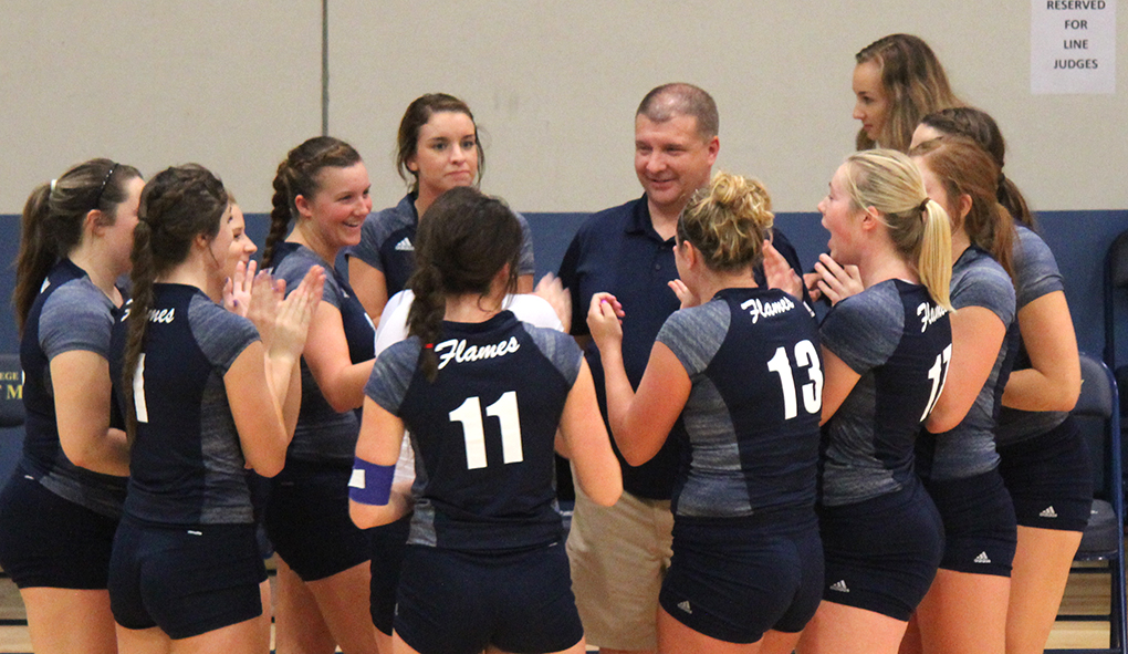 Photo for CSM volleyball falls to Concordia